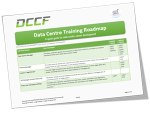 EPI Data Centre Training Roadmap - Quick Guide for Data Centre Career Development Plan